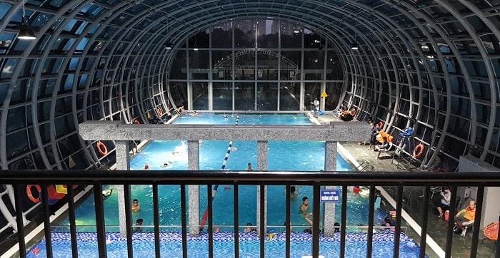Bể bơi khu vực quận Thanh Xuân - bể bơi Việt Đức Complex