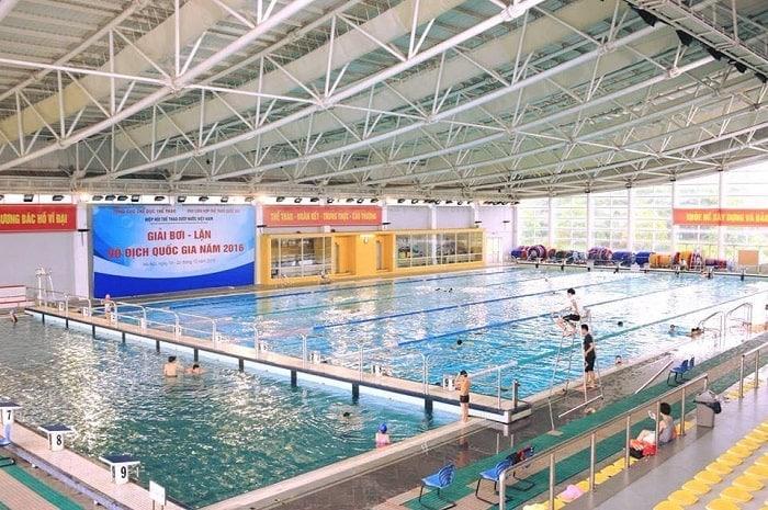Bể bơi cung thể thao dưới nước