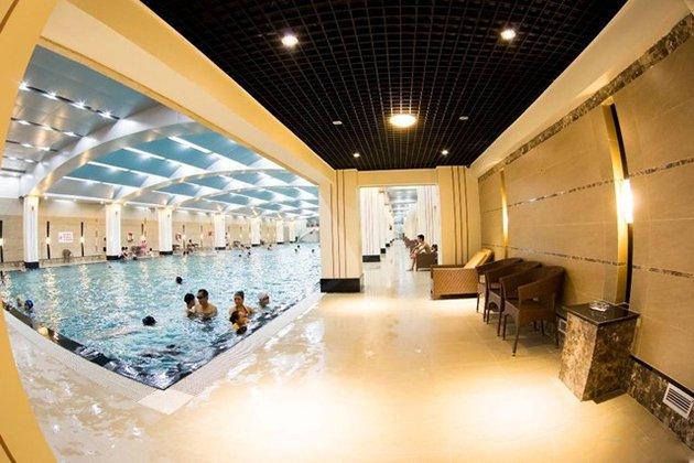 Bể bơi trong nhà Hapulico