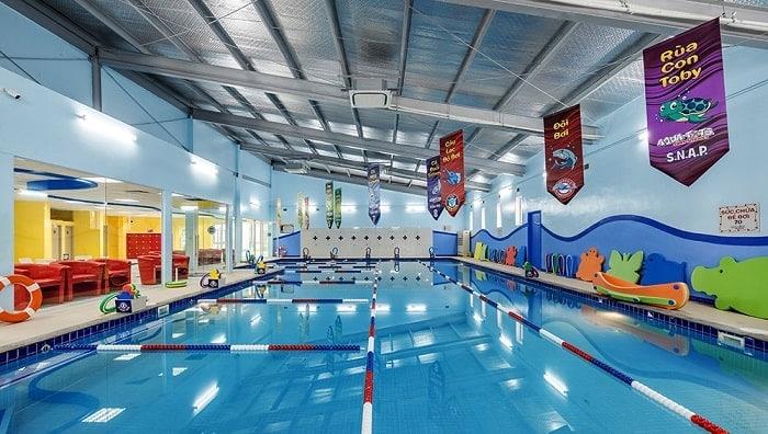 Trung tâm dạy bơi Aqua-Tots Starlake