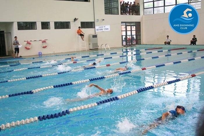Trung tâm dạy bơi Amsswimming Club