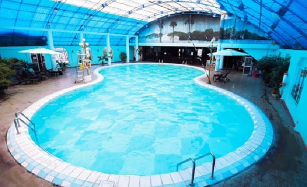 Thiết kế bể bơi Khách sạn Bảo Sơn