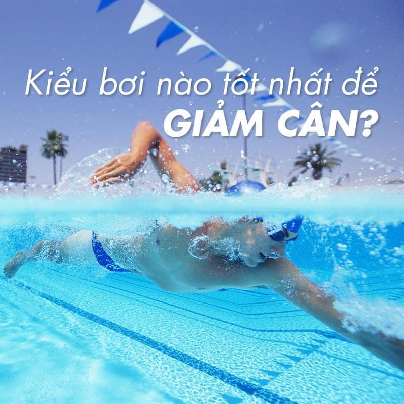 Kiểu bơi nào giúp bạn giảm cân tốt nhất?