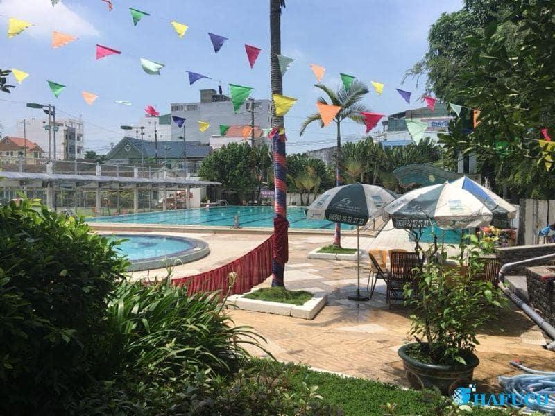 Tổng quan bể bơi Phú Thọ