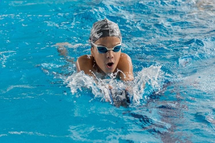 Kỹ thuật thở trong bơi giữ vai trò quan trọng