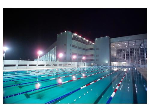bể bơi cung thể thao dưới nước Mỹ Đình
