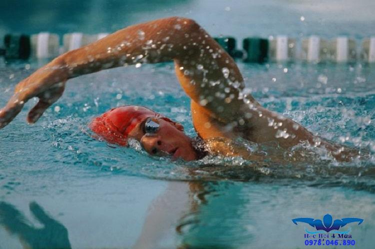 Cách học bơi không bị mệt