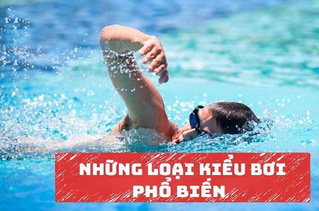 Tổng hợp tất cả các kiểu bơi lội hiện nay được yêu thích nhất