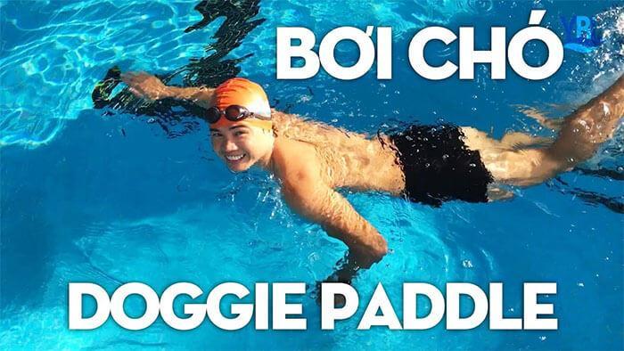 các kiểu bơi lội - bơi chó